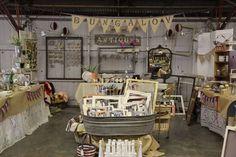 Great Flea Market Booth Display