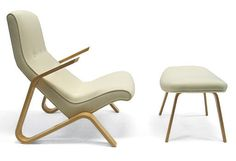 Grasshopper Chair: based on Eero Saarinen's design - Modernica