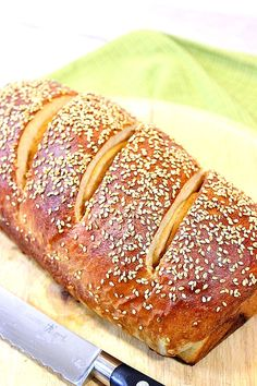 Whole Wheat Dijon Pretzel Bread is everything you love about soft, hot pretzels but without the twist. - Kudos Kitchen by Renee