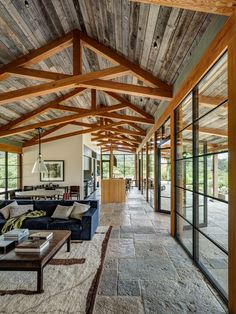 Coastal Architecture and Interiors that Celebrate All Things California / Studio Schicketanz Home Trends, Glass House, Sustainable Design, Future House, Architecture Design, Landscape Architecture, Building A House, House Plans, Cabin Plans