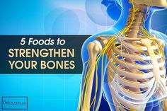 Make these 5 changes to your diet to strengthen the health of your bones and your overall wellbeing. http://drjockers.com/5-foods-to-strengthen-your-bones/