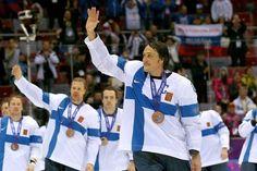 Teemu Selänne Sochi 2014