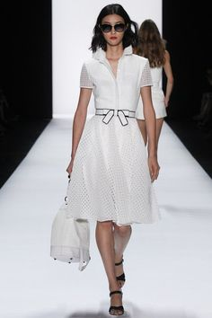 Badgley Mischka Spring 2016 Ready-to-Wear collection.