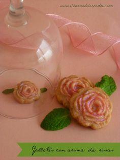 Rosas de Galleta con Aroma de Rosas. San Valentín'14