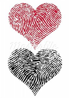 Cute! - you can get it here: http://www.masterfile.com/stock-photography/image/400-04667193/heart-shapes-with-fingerprint-texture-vector