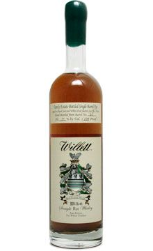 Willett Single Barrel Straight Rye Whiskey Four-Year: Until a friend let me try this, I never knew that citrus could be a strong characteristic of a rye, both on the nose and in flavor. Willet brings prodigious peppery spice with a melange of other, subtler cues. After Angel's Envy, this it the best rye I've had the privilege of sampling. $50.