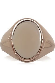 Maison Martin Margiela|Reversible rose gold-plated glass cuff|NET-A-PORTER.COM