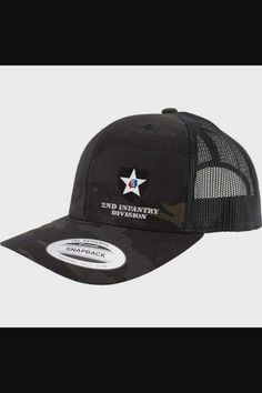Shop Army 2nd Infantry Division Full Color Trucker Hat - Black Multicam now save up 50% off, free shipping worldwide and free gift, Support wholesale quotation! Cool Baseball Caps, Baseball Hats, Quotation, Division, Army, Free Shipping, Gift, Stuff To Buy, Shopping