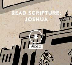 read Scripture: Joshua / the Bible project Book Of Joshua, Promised Land, Business Opportunities, The Book, Bible, Study, Faith, God, Reading