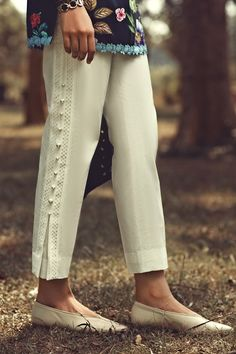 - Try Ammara Khan Styling Pants Kurti Sleeves Design, Sleeves Designs For Dresses, Dress Neck Designs, Plazzo Pants, Salwar Pants, Trouser Pants, Adidas Pants, Ankle Pants, Harem Pants