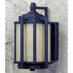 Troy 1-light Bronze LED Outdoor Wall Light