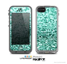 The+Glimmer+Green+Skin+for+the+Apple+iPhone+5c+by+TheSkinDudes,+$9.99