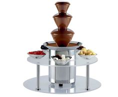 chocolate fountain (and I don't even like chocolate! Chocolate Fountain Machine, Chocolate Fondue Fountain, Chocolate Fountains, Party Sweets, Like Chocolate, My Themes, Kids Events, Popcorn Maker, Color Schemes