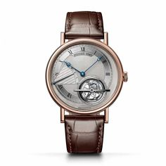 Breguet Classique Torubillon this watch features a rose gold case, automatic winding with tourbillon and power reserve indication, delivered with all original Breguet boxes, papers and warranty. Mens Rose Gold Watch, Rose Gold Watches, Gents Watches, Watches For Men, Tourbillon, Carat Gold, 18k Rose Gold, Watch Brands, Boutique