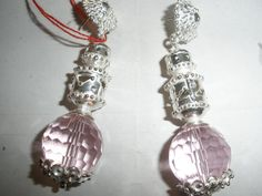 Sterling Silver and pink quarz earrings di Kelima su Etsy, €50.00