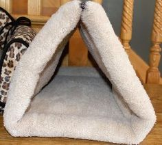 Amazon.com : Cat Bed By Mar&ly Pets- Pet Bed 2 in 1 Tunnel or Flat Mat for Small Dog and Cat : Pet Supplies