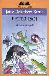 """""""Peter Pan"""" James M.Barrie  Tutti conoscono la storia di Peter Pan...pochi sanno però che quella è solo la seconda parte della storia...leggendo questo libro si svela in tutto il suo splendore drammatico la prima parte della storia di Peter...nei giardini di Kensington. Magica."""