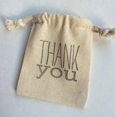 Thank you bag.