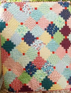 A Quilt Is Nice - Courthouse Steps Quilt