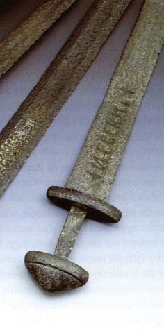 Ulfberth sword found in Finland. Smelting technology that wont be repeated by any other culture for centuries. The Vikings were among the fiercest warriors of all time. The feared Ulfberht sword. Fashioned using smelting techniques that would remain unknown to the Vikings' rivals for centuries, the Ulfberht was a revolutionary high-tech tool as well as a work of art. Considered one of the greatest swords ever made. source