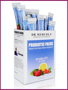 Dr. Mercola's Probiotics Packs: These are great for the kiddos!  They need a daily source of fermented stuff to keep their gut & immune systems healthy too.  If your child has asthma, eczema, poor immunity, allergies, ADD, Autism (strong evidence emerging re. link to gut health) or any other health issues, seriously consider these.  Great for healthy kids too, I feed them to mine!  I consider probiotics or fermented foods to be a daily essential for every person young & old.