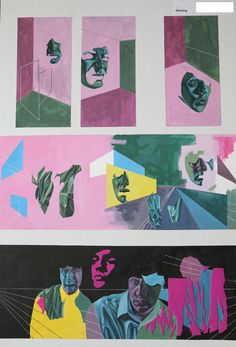 Top Art Exhibition - Painting » NZQA 2015 Kelly van der Hurk, Taieri College… A Level Art, Level 3, 3 Arts, Visual Communication, Art Portfolio, Exhibit, Art Education, Art Boards, Surrealism