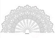 Risultati immagini per der Klöppelei Hat Embroidery, Embroidery Patterns, Bobbin Lace Patterns, Crochet Patterns, Crochet Lace Collar, Lace Art, Crochet Bookmarks, Lacemaking, Parchment Craft