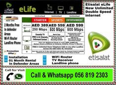 16 Best etisalat home internet offer new images in 2019