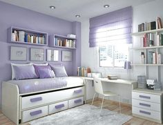 Stuff for teenage girl rooms teenage bedroom stuff girl bedroom awesome bedrooms teenage girl room girls Small Teen Room, Small Room Bedroom, Bedroom Decor, Small Rooms, Bedroom Furniture, Bedroom Girls, Girl Rooms, Teen Rooms, Furniture Ideas