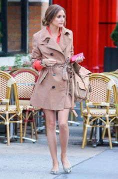 THE OLIVIA PALERMO LOOKBOOK: Olivia Palermo in New York City.