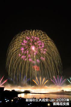 JAPAN Niigata Nagaoka Festival Fireworks   [2010新潟三大花火フォトコンテスト 長岡花火賞作品☆神尾さん]