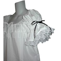 Pirate Wench's Short Chemise $50