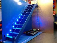 Automatic Stair LED Lighting Demonstration
