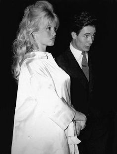"""gatabella: """" Pregnant Brigitte Bardot with her second husband Jacques Charrier, Paris, 1959 """" Bridgitte Bardot, Jacques Charrier, And God Created Woman, Animal Activist, Pregnancy Looks, French Actress, Most Beautiful Women, Simply Beautiful, Beautiful People"""