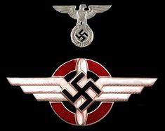 Insignia of the DLV - Deutschen Luftsportverband - cap badge, 1st pattern