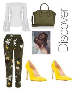 """""""Untitled #1"""" by katwood-1 ❤ liked on Polyvore featuring River Island, Stuart Weitzman and Givenchy"""