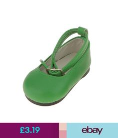 """Other Dolls Green Patent Leather Shoes Accessory Fit 18"""" American Girl Ag My Life Dolls #ebay #Collectibles"""