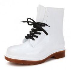 Rubber Candy Color Rain Boots