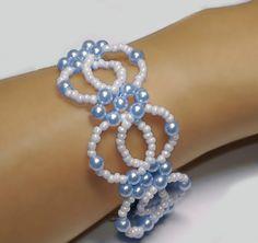 Beading Tutorial Bead Interlocking Bracelet Pattern por Splendere