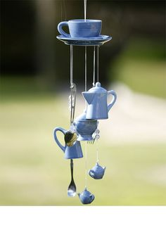 Tea Cup and Saucer Windchime