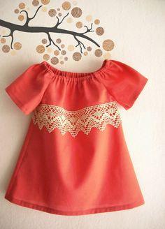 Baby Summer Dress/ Toddler Dress/ Children's by ANKOdesign on Etsy, $30.00