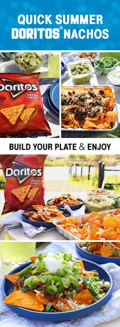 Sponsored by Frito-Lay | Say yes to summer in the most delicious way, with this recipe for Loaded Doritos Nachos. Not only is this shareable dish topped with all your favorite Southwest flavors—like pico de gallo, guacamole, and jalapeños—it can be made on the grill. In our opinion, more time with your friends and family means more outdoor party fun. So, before your next occasion, grab everyone's favorite Frito-Lay® products for a menu all your guests will love!