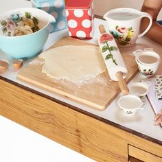 View All | Painterly Rose Rolling Pin | CathKidston