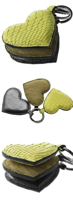 What a pretty yellow heart-shaped keychain from Valenz Handmade! Handmade Handbags & Accessories - amzn.to/2ij5DXx Handmade Handbags & Accessories - http://amzn.to/2iLR27v