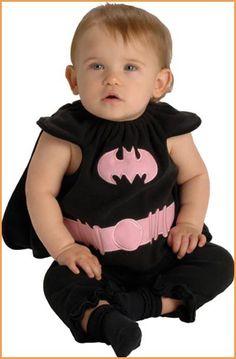 This is listed as a halloween costume... I don't think so!  She's Batgirl!!  A mini Batgirl, I am Batgirl!