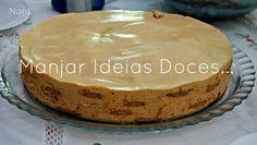 Manjar de ideias doces... e não só!: Mais um bolo de bolacha com leite condensado cozido