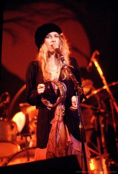 Stevie Nicks Rumours tour, c. 1978.