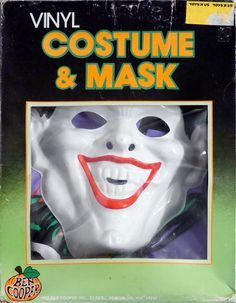 Ben Cooper Joker Costume & Mask