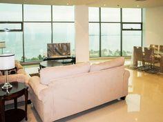 Sea view 2 bdr furnished or unfurnished apt in Abu Halifa