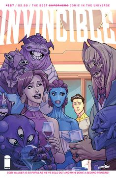 INVINCIBLE back to print, Cory Walker fans rejoice!, INVINCIBLE BACK TO PRINT…